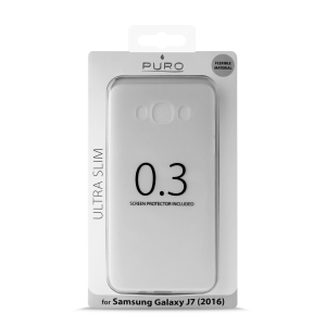 PURO Ultra Slim 0.3 за SAMSUNG GALAXY J7 2016