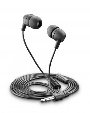 Стерео слушалки с микрофон BSK черни