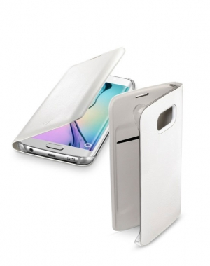 Backbook за Samsung Galaxy S6 edge бял