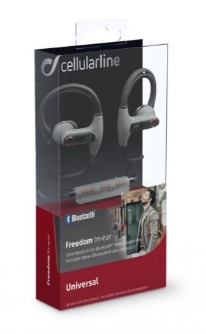 Стерео мини bluetooth слушалки Freedom черни