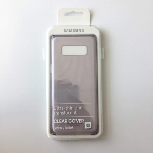 Samsung Galaxy Note 8,N950,Clear cover,Black