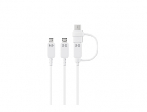 Samsung Cable Multi Charching 3 Micro USB Plugs