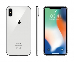 Apple iPhone X,Silver,64GB