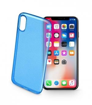 Style калъф за iPhone X/Xs син