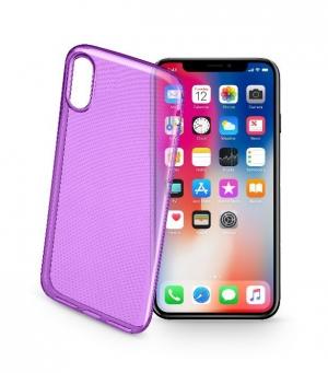 Style калъф за iPhone X/Xs лилав