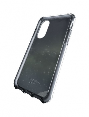Tetra усилен калъф за iPhone X/Xs черен