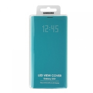 Samsung S10+,G975,LED View Cover,Green