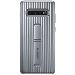 Samsung S10+,G975,Protective Standing CoverSilver
