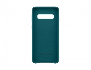 Samsung S10,G973,Leather Cover,Green