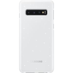 Samsung S10,G973,LED Cover,White