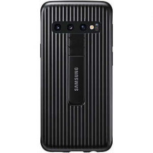 Samsung S10,G973,Protective Standing Cover,Black