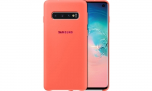 Samsung S10,G973,Silicon Cover,Berry Pink