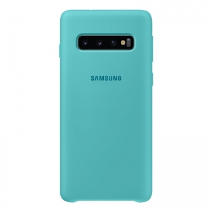 Samsung S10,G973,Silicone Cover,Green