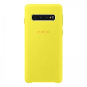 Samsung S10,G973,Silicone Cover,Yellow