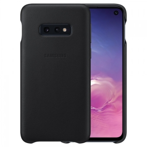 Samsung S10e,G970,Leather Cover,Black