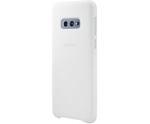 Samsung S10e,G970,Leather Cover,White