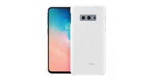 Samsung S10e,G970,LED Cover,White
