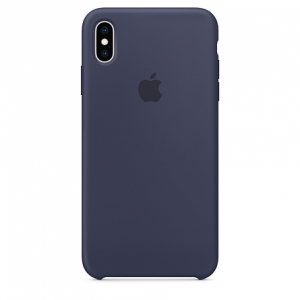Apple iPhone XS Max Silicone Case -Midnight Blue