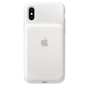 Apple iPhone XS Smart Battery Case - White