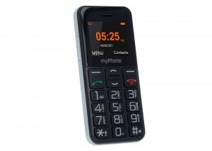 Телефон myPhone Halo Easy черен