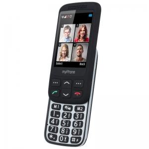 Телефон myPhone Halo S черен