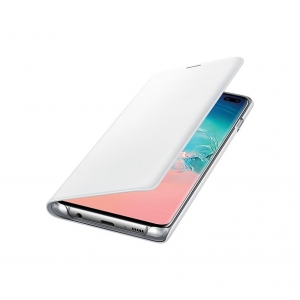 Samsung S10+,G975,LED View Cover,White